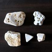 Морские камни камешки  дары моря