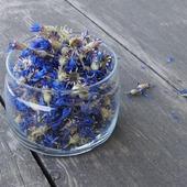 Василек синий. Цветки ручного сбора. Цена за 1 г.
