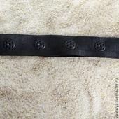 Лента застежка с кнопками цветная , техническая лента