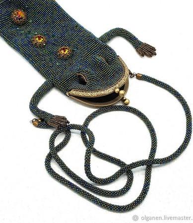Кошелек-сумочка ручной работы на заказ
