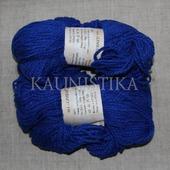 Пряжа Лимбажу ярко-синяя 130м/100гр LIMBAZU