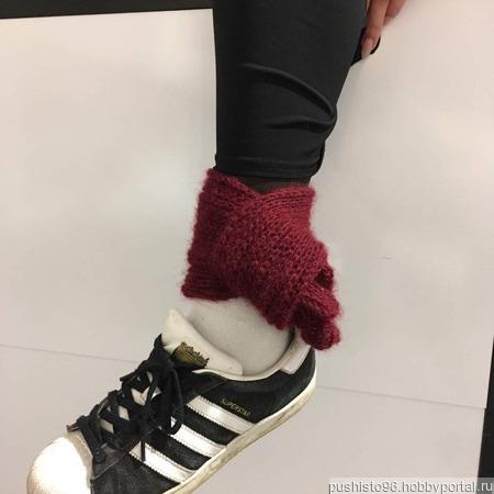 Мини-шарфы для щиколоток ручной работы на заказ