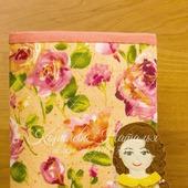 Развивающая книга из ткани и фетра Кукольный домик-клатч № 2