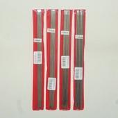 Спицы чулочные металлические 25 см