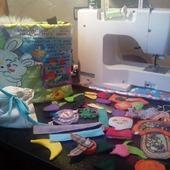 фото: Куклы и игрушки (ткань хлопок)