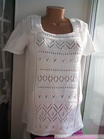Пуловер Эрика по мотивам Дропс ручной работы на заказ