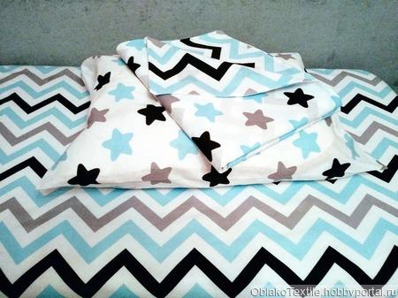 Комплект постельного белья в кроватку ручной работы на заказ