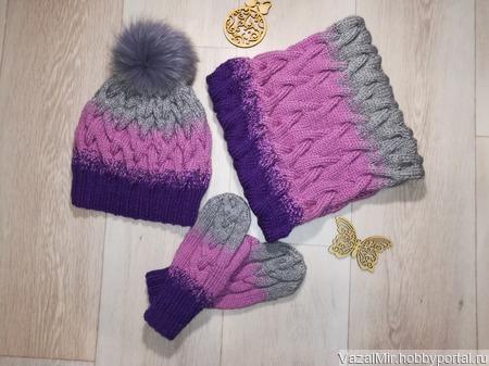 Зимний комплект ручной работы на заказ