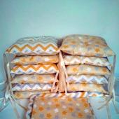Комплект детского постельного белья с бортиками