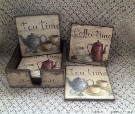 Набор для чая ручной работы на заказ