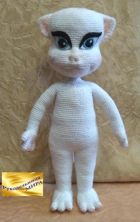 Кошечка Анжела ручной работы на заказ