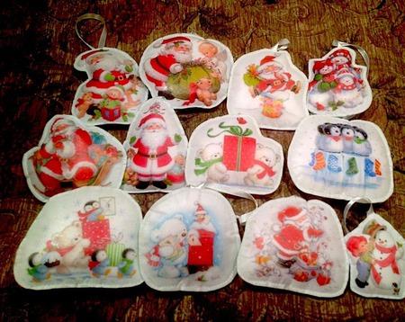Игрушки интерьерные  и новогодние ручной работы на заказ