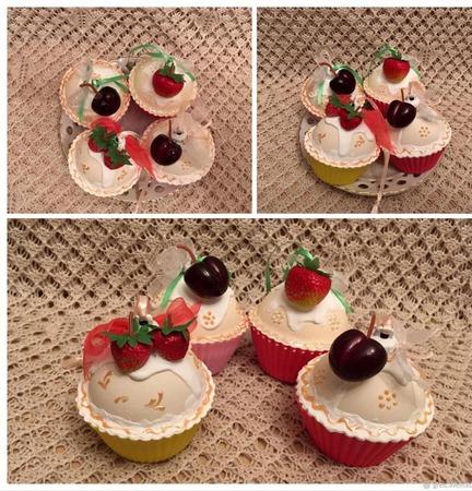 Пирожные на елку ручной работы на заказ
