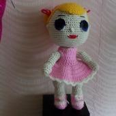 Вязаная игрушка Кукла ЛОЛ