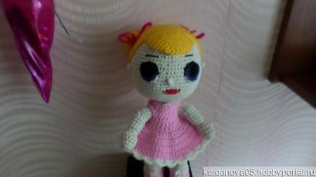 Вязаная игрушка Кукла ЛОЛ ручной работы на заказ