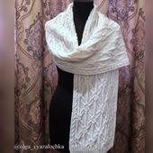 фото: Аксессуары (белый шарф)