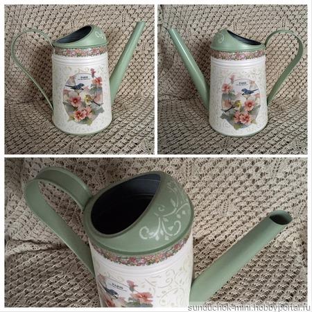 Лейка-ваза ручной работы на заказ
