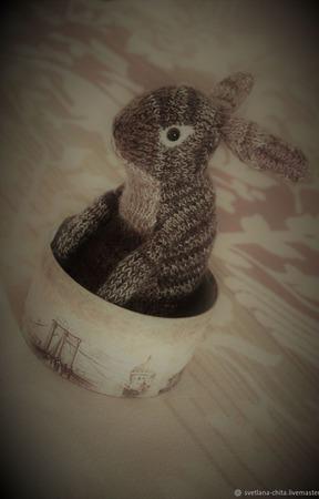 """Интерьерная игрушка """"Заяц"""" ручной работы на заказ"""
