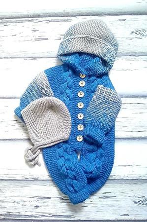 Комбинезон для новорожденных ручной работы на заказ
