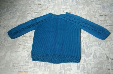 Детский пуловер ручной работы на заказ