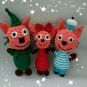 фото: три кота мягкие игрушки