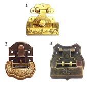 Навесной замок с ключом