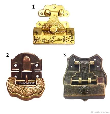 Навесной замок с ключом ручной работы на заказ