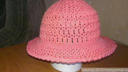 Шляпка-панамка ручной работы на заказ