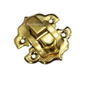 Замочек шкатулки заготовка М-76 золото