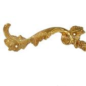 Ручка мебельная скоба М-46 золото аксессуары для шкатулок комодов