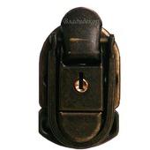 Замок на сумку чемодан М-251 задвижка на ключ фурнитура для портфеля