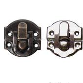 Замочек шкатулки фурнитура М-24 выбор цвета заготовка металл декор