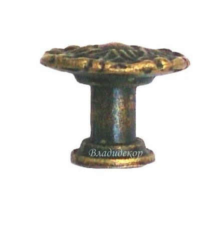 Ручка мебельная фурнитура Р-243 кнопка на ножке аксессуары фурнитура шкатулок ручной работы на заказ