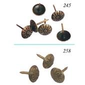 Гвоздь декоративный М-245 / М-258 выбор мебельный гвоздь обивки шляпка