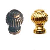 Ручка кнопка на ножке М-105 выбор цвета фурнитура декор мебели