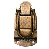 Замок металический задвижкой М-171 пряжка для сумок чемоданов сундука