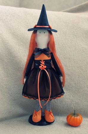 Кукла Ведьмочка ручной работы на заказ
