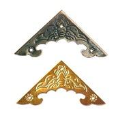 Накладка декоративная угловая Ф-15 выбор цвета фурнитура декор металл