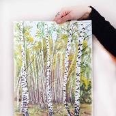 фото: Картины и панно (осенний пейзаж)