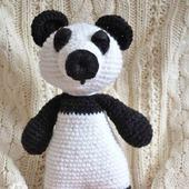 Игрушка амигуруми Панда