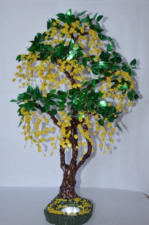 Цветы и деревья для декора ручной работы на заказ