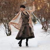 Сарафан твидовый на осень и зиму