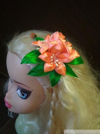 Бантики для волос ручной работы на заказ