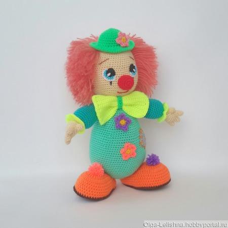 Клоун Солнышко ручной работы на заказ