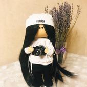 Игровая текстильная кукла