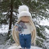 фото: кукла текстильная