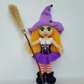 Ведьмочка Жаклин. Амигуруми.
