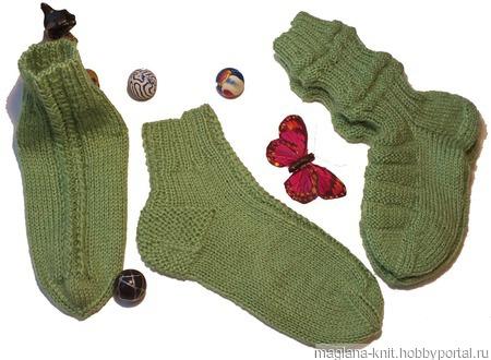 Комплект детский - джемпер и носочки ручной работы на заказ