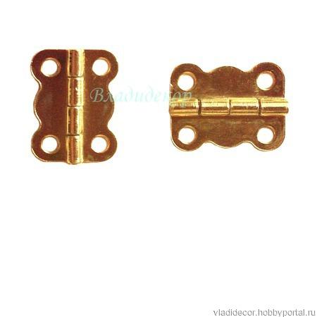 Петли навес шкатулок М-225 бронза медь золото ручной работы на заказ