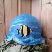 """Банная шляпка """"Море волнуется раз..."""""""